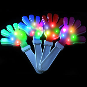 Flashing Hand Clappers Light Up Hand Clappers Hand Clapper