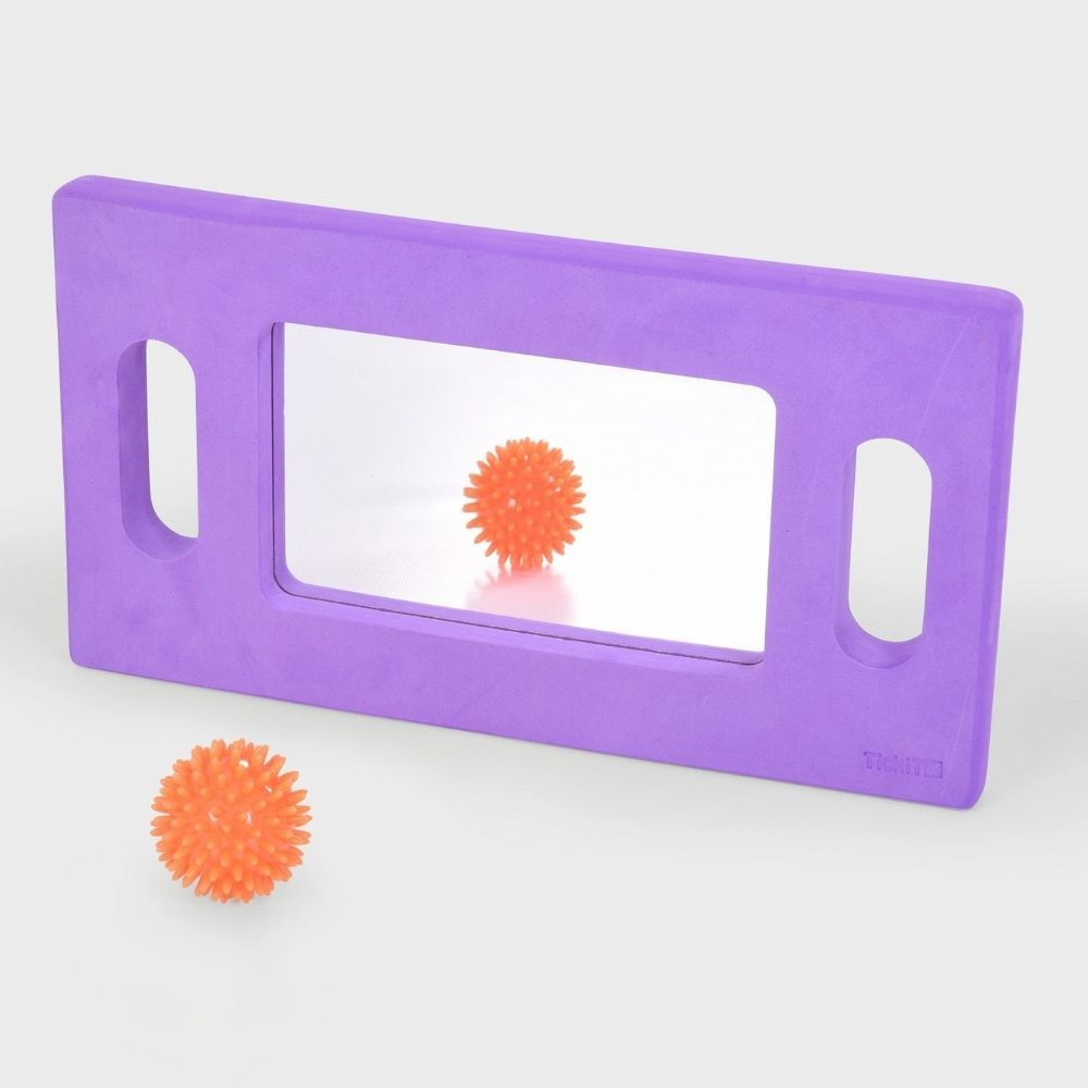 Hand held foam mirror softies hand held mirror sensory for Looking for mirrors