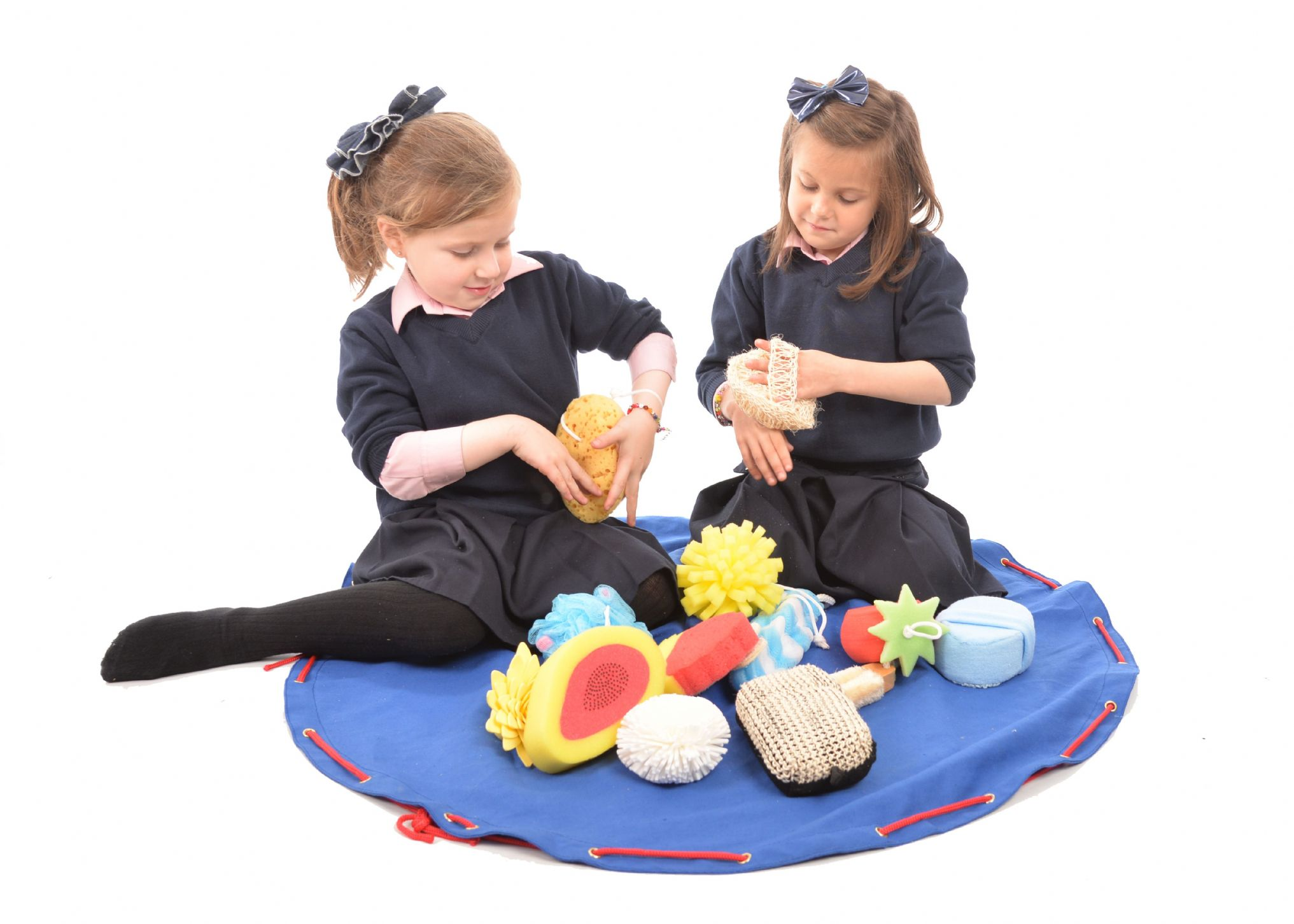 tactile sponge set for children with sensory needs visual sponge