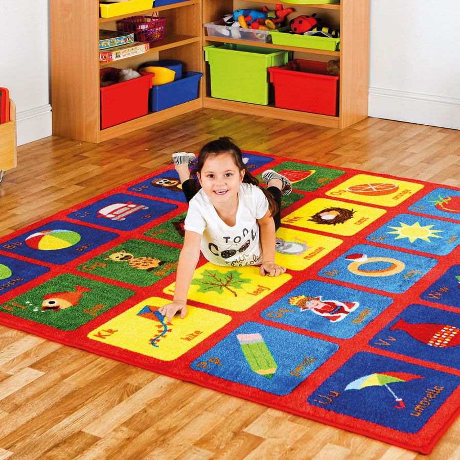 Alphabet Square Carpet,Alphabet Square Carpet L200 X