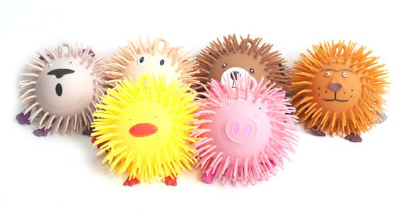 Sensory puffer toystactile puffer toysspecial needs tactile toys animal critter puffer ball publicscrutiny Gallery