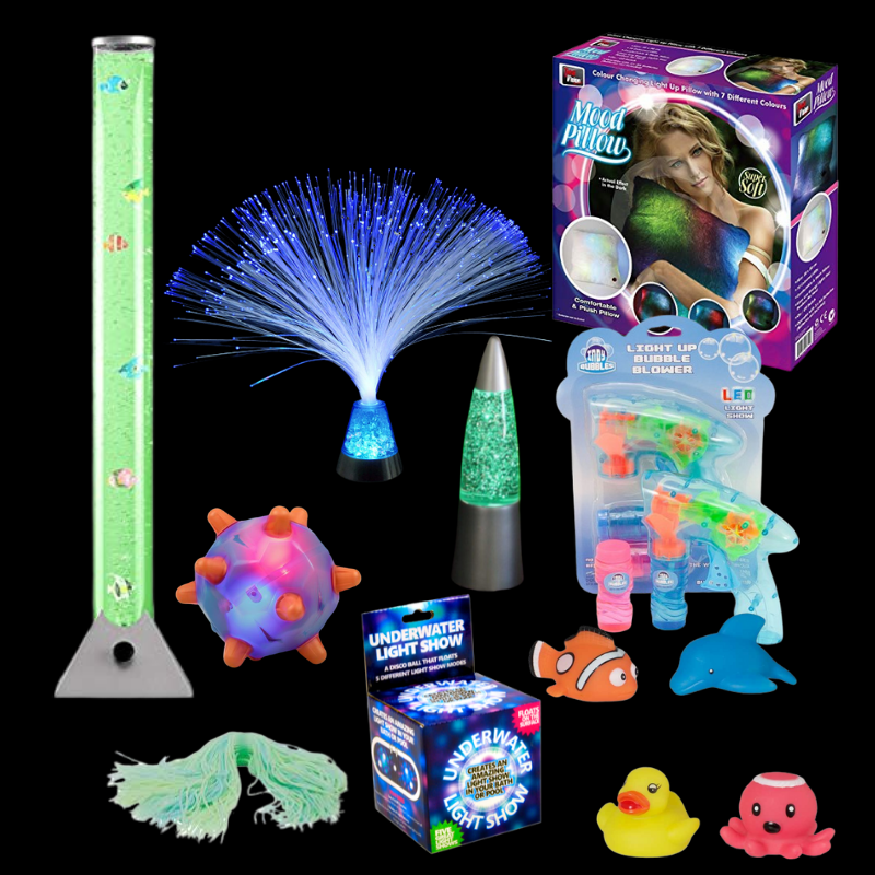 Awesome Sensory in an Instant Sensory Kit. LIGHTING special needs,Special needs toys,autism ...