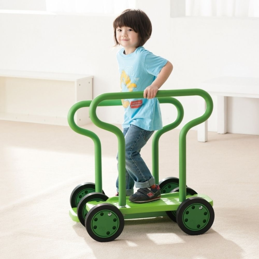 Toys For Special Education : Balance twin walker with handles weplay
