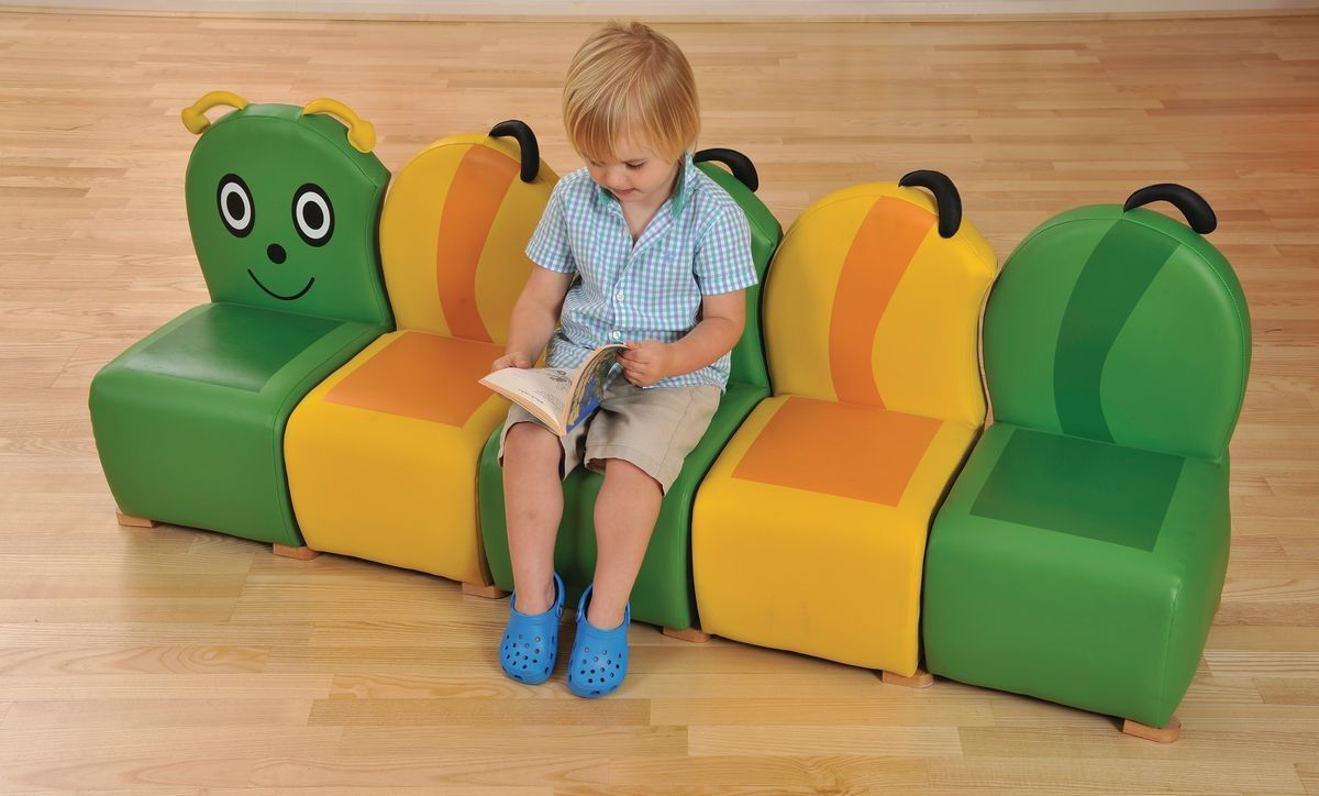 Caterpillar Sofa Setthemed School Seatingclassroom Seating - Nursery tables and chairs