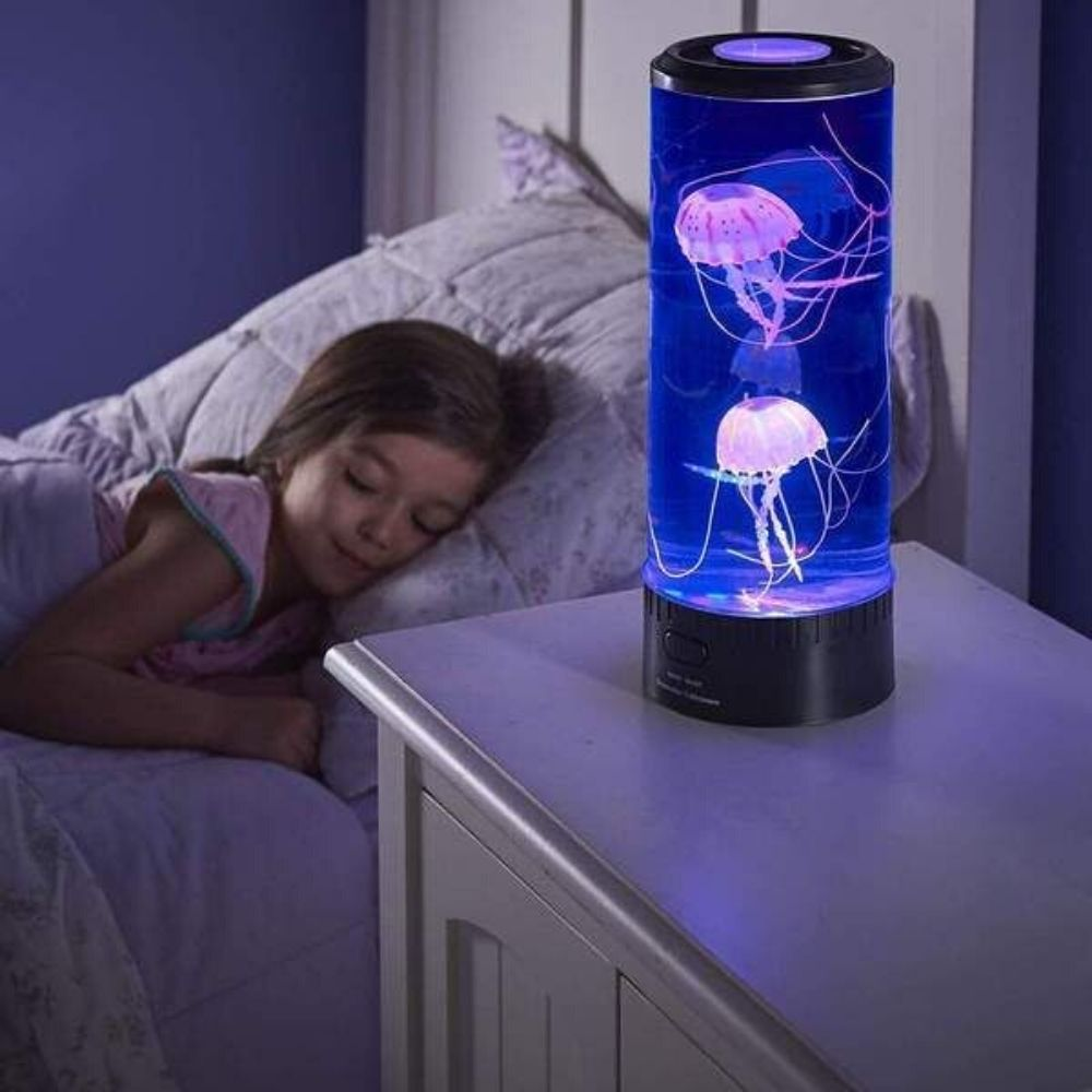 Jelly Fish Lamp Mini Jelly Fish Lamp Sensory Lighting Red5