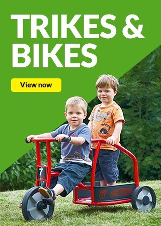 trikes and bikes,early years trikes,nursery bikes,classroom bikes,classroom trikes,playground bikes,playground trikes